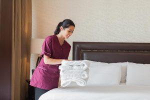 hotel-maid-working